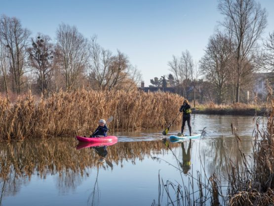 Water users on the River Stour
